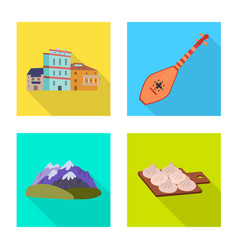 Design culture and sightseeing icon vector