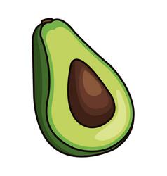 Healthy vegetable icon vector