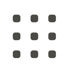 menu icon navigation mobile button vector image