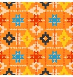 Navajo tribal ornament vector image