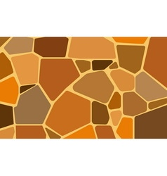 pattern stone wall vector image