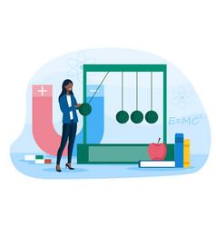 Physics school subject concept vector