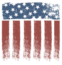 Usa stripe flag design vector