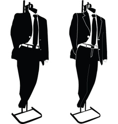 business suit - vector image