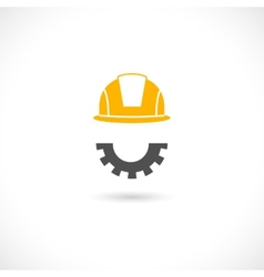 Engineer concept icon vector image vector image