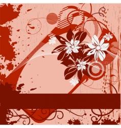 grunge framework vector image