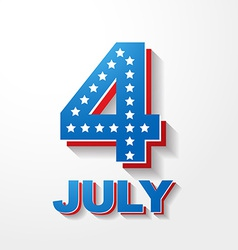 American independence day background vector