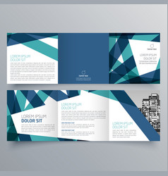 brochure design 926 vector image