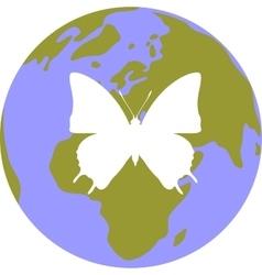 Earth globe set 002 vector
