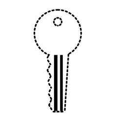 key access security protection icon vector image