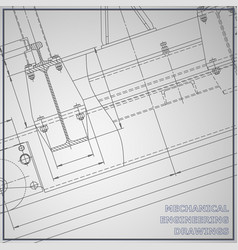 Mechanical engineering drawings engineering vector