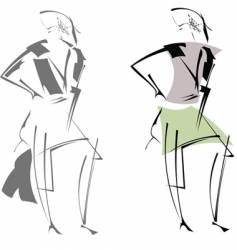 modern sketches vector image