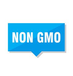 non gmo price tag vector image