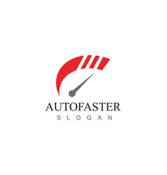 Speed auto car logo and symbol template vector
