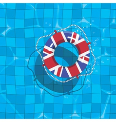 uk life saver vector image