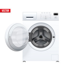 classic washing machine vector image