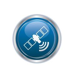 communication satellite icon vector image vector image