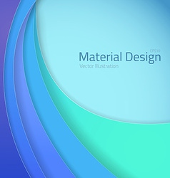 Bright colorfull material design abstract lines vector