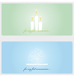 Invitation Cards vector image vector image