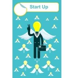 Start up business concept vector