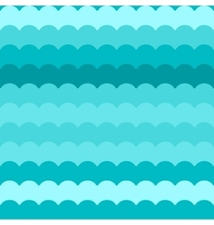 Wave pattern blue abstract waves vector image vector image