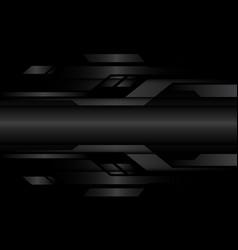 Abstract dark grey metallic geometric cyber vector