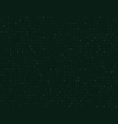 binary matrix code background vector image