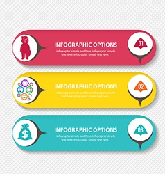 Business Infographic style vector image