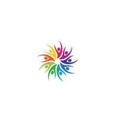 community icon vector image