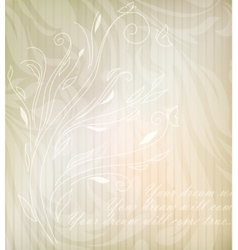 Flower vintage retro background vector