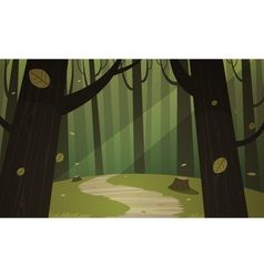 Forest Trail vector image