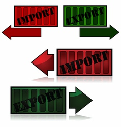 Import and export vector