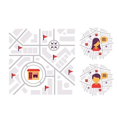 Location-based Marketing vector