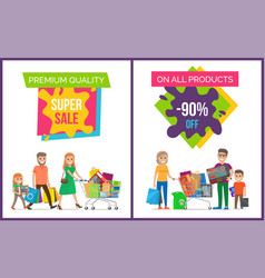 premium quality super sale pic vector image
