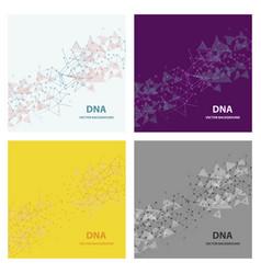 Set of genetic engineering nanotechnology medical vector