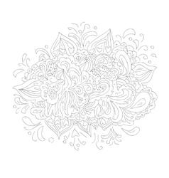 Floral design element pattern vector image vector image