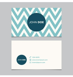 Business card pattern blue 07 vector