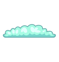 cyclonic cloud icon cartoon style vector image