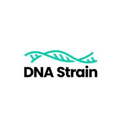 dna strain logo icon vector image