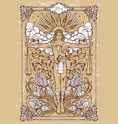 Fantasy zodiac sign libra or scales vector