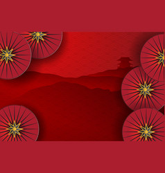 happy chinese new year abstract pattern vector image
