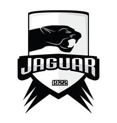 Jaguar logos vintage vector
