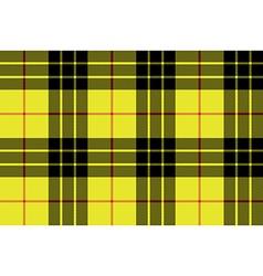 Macleod tartan kilt fabric texture seamless vector