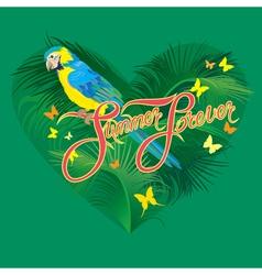 Parrot heart 2 380 vector