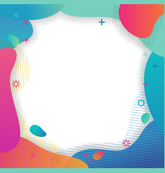 set abstract creative universal artistic vector image