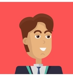 Young Businessman Icon vector image