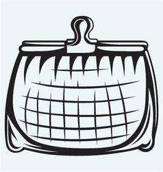 Full purse vector image vector image