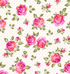 light bright roses vector image vector image