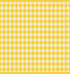 yellow diamonds texture background and abstract vector image vector image