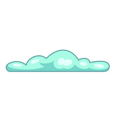 Atmosphere cloud icon cartoon style vector